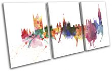 London Watercolour Abstract City - 13-6000(00B)-TR21-LO